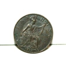 1917 Great Britain Farthing Coin