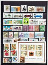 BUNDES REPUBLIEK Complete jaar uitgave 1982 POSTFRIS MNH