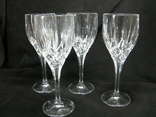 Royal Doulton Crystal RDC33 Water Goblet Or Wine Cut Vertical & Criss-Cross