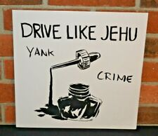 "DRIVE LIKE JEHU - Yank Crime, Limited BLACK VINYL LP + Bonus 7"" New & Sealed!"
