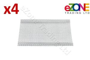 4x Archway Doner Kebab Grill Shawarma Machine Burner Mesh Stainless Steel Cover