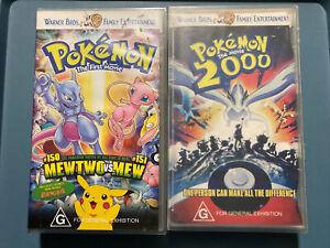 POKEMON The Movie 2000 Pokemon The First Movie Mew Two VS Mew VIDEO VHS Tape