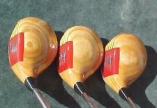 OVERSIZED PING ZING Set Woods Refinished Golf Clubs Driver 3 5 w New Tour Grips