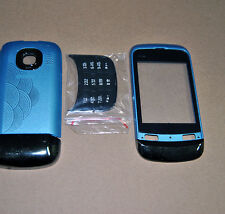 COVER HOUSING COMPATIBILE per NOKIA C2-03 AZZURRA CON TASTIERA