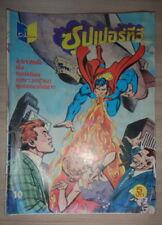 Vintage! 1980s SUPERMAN SPIDERMAN HULK  Punisher THAILAND Comics Book DC Marvel