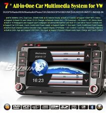 "AUTORADIO 7"" DAB+ Vw golf passat polo tiguan Navigatore gps dvd mp3 mappe incl"