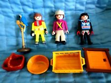 PLAYMOBIL DOLLHOUSE PEOPLE PARROT WITH STAND SHELL BOSCH BASKET - LOT