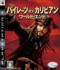 Used PS3 Pirates of the Caribbean  SONY PLAYSTATION 3 JAPAN JAPANESE IMPORT