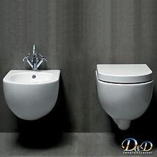 Sanitari Nuvola Sospesi vaso bidet coprivaso sedile bagno