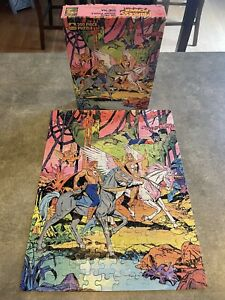 Princess of Power Featuring She-Ra 200 Piece Puzzle Golden 1985 Vintage