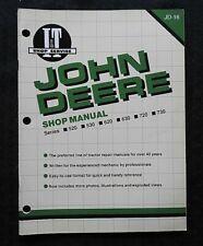 """JOHN DEERE """"520 530 620 630 720 730"""" TRACTOR I & T SHOP REPAIR MANUAL NICE"""