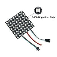 LED Panel Full Color RGB Matrix Module SMD 5050 WS2812B 8*8/8*32/16*16 Pixels 5V