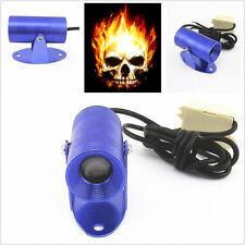 Motorcycle Fire Ghost Rider Skull Logo Warning Signals Indicator Projector Light