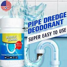 Pipe Dredge Cleaner Sewer Deodorant Drain Toilet Bathtub Foame Clean Solvent USA