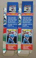 PETE ROSE - 1983 Topps Baseball Album Stickers Uncut Box Card #7 *NEW* Lot of 2!