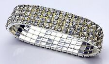 Mousseux strass élastique bracelet CJB178