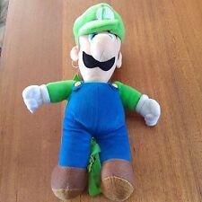 Mario Bros Luigi Plush Toy With Straps And Zip Up Pouch 2013