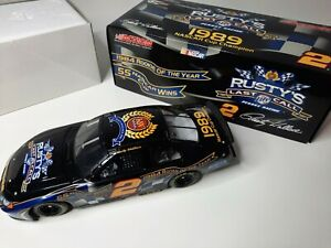 NASCAR Cup Rusty Wallace Last Call 1989 1:24 Scale Die-cast Limited Edition