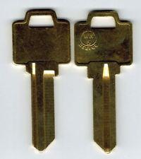 Weiser WR5 5 Pin Key Blank Brass X2