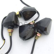4X 12V LED Ampoules Clignotant Feu Indicateur Signal Lampe Eclairage Ambre Moto