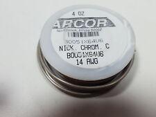 "Nickel Chomium Resistance Wire, Bright, 14 Awg, 0.0641"" Diameter (H196873)"