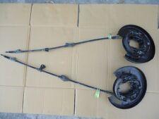 Nissan Cefiro A31 Rear Drum Handbrake Assembly + Cables + Backing Plates Laurel