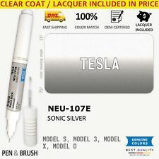 Wheelrim Neu 107e Touch Up Paint For Tesla Silver Model S 3 X D Bu0738 Sonic Si