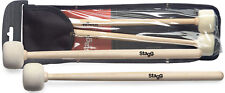"Stagg SMTIM F50 Timpani mallets with maple handle 1.96"" (50 mm) round felt head"