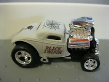 Muscle Machines Mm Blvd Blasters 33 Ford Coupe Black Widow White M2 Hw Th Loose