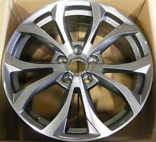 """18"""" SLINE STYLE WHEEL RIM ONE REPLACEMENT 5x112 GUNMETAL FOR AUDI A4 A5 B7 B8 A8"""