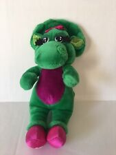 "92 Vintage 14"" Baby Bop Dinosaur Plush Toy Barney and Friends"
