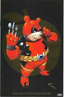 """Do You Pooh  """"Wolverine, Deadpool"""" GOLD NYCC Exclusive  Ltd. Ed.25 Comic Book"""