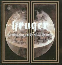 Kr�Ger (Drums) - For Death, Glory And The End Of The World * New Cd