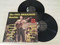 THE DEL SHANNON DOUBLE 1970 RARE AUSTRALIAN RELEASE 2 x LP