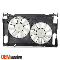 2006-2012 RAV4 Radiator /& A//C Fan Assembly 2.4L//2.5L//L4 Dual Fan