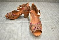 L'Artiste by Spring Step Avelle Ankle Strap Sandal, Women's Size 5/EU 35, Camel