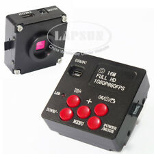 16MP 1080P 60FPS HDMI Industry Lab C-mount Microscope Camera High Solution Image