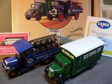 1/50 Corgi Bedford o series u. Thornycroft Beer Truck Ruddles 97752