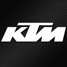 Stickers moto KTM Haute Résistance Qualité Premium BLANC x2 390 Duke