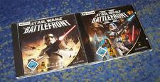 PC STAR WARS BATTLEFRONT 1 + 2 1 - 2  Komplett Deutsch beide Teile Star Wars PC
