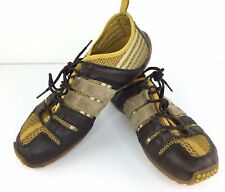 TSUBO Mens Leather FRAX-Suede-Canvas Athleisure Lace Up Shoes Brown Sz11 EU44