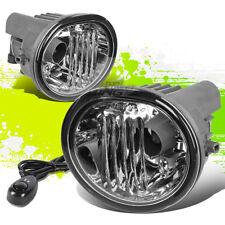 CLEAR GLASS LENS OE BUMPER FOG LIGHTS/LAMPS PAIR KIT FOR 05-10 SCION tC/MATRIX