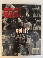 WWF Raw Magazine 1999 June Mankind Sable Stone Cold Torrie Wilson Poster Divas!!