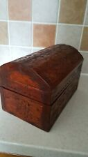 CARVED DOME TOP BOX