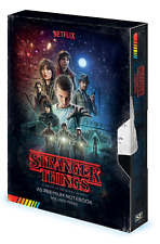 Official Stranger Things Video Style Notebook Journal Pad Upside Down TV Gift