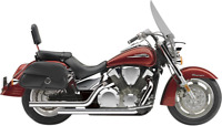 Cobra Dragsters Exhaust 2003-2009 Honda VTX1300C/R/S - CHROME 1630T
