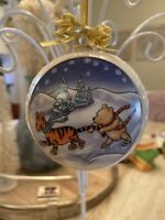 Lenox Disney A Wintery Adventure Porcelain Ornament