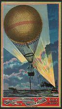 Etikett für Fez Hutschachtel - Fesselballon - fez hat label / tarbouche  # 1281