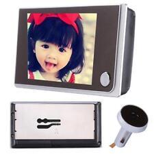 """3.5"""" LCD Digital Peephole Viewer 120°Door Eye Home Doorbell Video Night Vision"""
