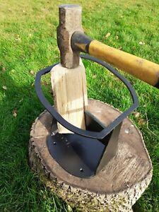 Heavy duty firewood Kindling log splitter. BBQ. Fire Pit. Made in England!